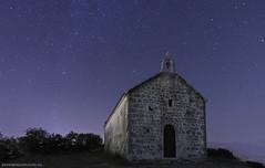 St.Juraj near Bribir en Selce, Crikvenica  Croatia at Night