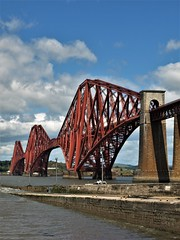Forth Bridge (Fraser P) Tags: scotland southqueensferry bridges forthbridge estuary crossing cantilever historic worldheritage engineering iconic westlothian edinburgh