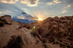 Sunset in Alabama hills (CsiziPhoto) Tags: