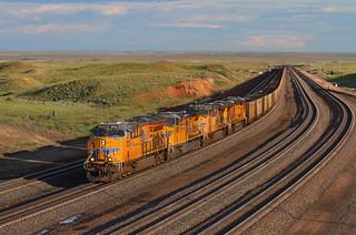 Hustling a coal empty