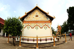 HDR images of Wat  in Chiang Khan ,Loei, Thailand (www.icon0.com) Tags: loei thailand travel wat landmark southeastasia buddhism asia chiangkhan place nationallandmark architecture temple famousplace vacations tourism religion art locallandmark giant