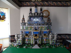 Large Castle Ver 4 Pic 29 (Dursaflare) Tags: lego moc giant large castle lions knights belltower belfry wizards king prince queen princess elves nexoknights ninjago technic fantasy blue belville ghosts spectres banshees bigfoot genies faeries