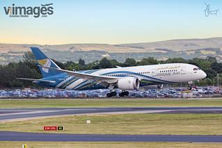 OMAN Air A40-SA Boeing 787