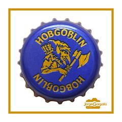 Hobgoblin (J.Gargallo) Tags: hobgoblin cerveza cerveja beer birra bier chapa macro macrofotografía marco framed canon canon450d eos eos450d 450d tokina tokina100mmf28atxprod