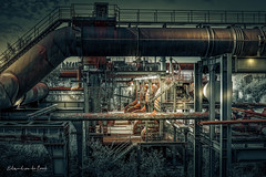 Landschaftspark 2018 (EBoss Fotografie) Tags: smeltingplant dark colors landschaftspark duisburg germany canon soe twop ruhrvalley industrial metal iron coal light depth factory