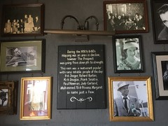 Some of the famous people who drank at The Prospect of Whitby pub. (maggie jones.) Tags: london rod steiger richard burton kirk douglas frank sinatra paul newman judy garland mohammed ali princess margaret photos wall pictures framed