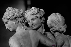 The Three Graces (TheViewDeck) Tags: paris france museum louvre sculpture arts artist people architecture stone