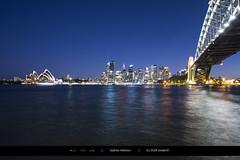 All lit up (Joseph@Oz) Tags: harbourbridge d7200 nikon bridge lights citylights sydneyharbour harbour water sydney australia