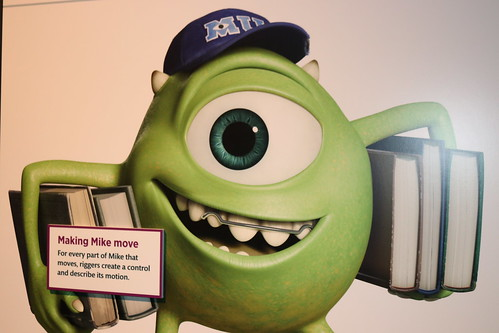 "Mike from Monsters University - The Science Behind Pixar • <a style=""font-size:0.8em;"" href=""http://www.flickr.com/photos/28558260@N04/30018844898/"" target=""_blank"">View on Flickr</a>"