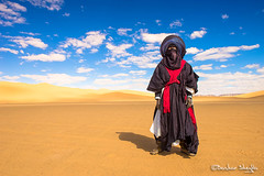 Tuareg King ! (Bashar Shglila) Tags: tuareg man sahara libya sky desert clouds outfits hipa libyan africa