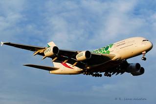 Emirates A6-EOJ  Airbus A380-861
