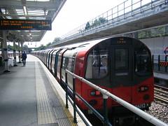 London Underground, train No. 96112 (johnzebedee) Tags: undergroundtrain stanmore london tfl johnzebedee jubileeline