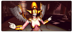 Blind Blessings (Ursula Floresby...Kidnapped By RL) Tags: fantasy wings angel mementomori belleepoque janirecoba lesencantades anoukhaiku jeanettesjoint chouchou jeanettedoobie helamiyo miyokomagic catwa maitreya surreal