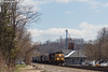 Apex (nrvtrains) Tags: christiansburgdistrict sunny cambriast christiansburg 165 manifest cambria norfolksouthern unionpacific virginia unitedstates us