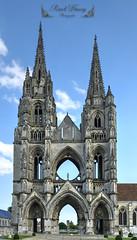 Soissons ( photopade (Nikonist)) Tags: abbayesaintjeandesvignes abbaye abbey soissons architecture arcade arche nikon nikond80 apple affinityphoto on1 imac picardie aisne aisnepicardie gothique gothic