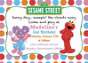 Maddie's 2nd Birthday-Sesame Street Invitation (maddieandmarry) Tags: sesamestreet elmo 2nd birthday party abby polkadots invitation
