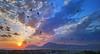 Swallow's View (gtsimis) Tags: swallowbirds gathering evening bluehour bridge rionantirrion patras greece travel androidphotography sonyxperiaxa1ultra g3212 sonyg3212 sun mountains varasova klokova blue red yellow shadows figures