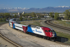 Happy 10th Anniversary Frontrunner! (Schon Norris) Tags: utah transit authority frontrunner salt lake city north temple rail railroad train trains commuter 10th anniversary downtown