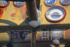 Old Tractor, Kirby Family Farm, Williston, Florida (5 of 5) (gg1electrice60) Tags: kirbyfamilyfarm amusementsfordisadvantagedchildren amusementsforcriticallyillchildren comfortforcriticallyillchildren openingin2019 19650ne30thstreet 19650northeast30thst 1965030thstreet 19650nethirtiethst florida fl unitedstates usa us america farmtractor oldtractor amusements specialevents trainrides focusonrailroadagriculturalhistory tractor knob gearshiftknob levers chokeknob rust rustyandcrusty rustycrusty patch dashboard startingprocedure fuelgage fuelguage speedometer odometer meters gages guages transmissionpattern shiftpattern hpattern creeoerdrive directdrive olipressure temperatureguage tempgage steering column williston