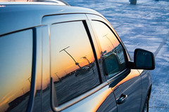 sunset reflection on Durango (Lakeside Annie) Tags: 04202018 2018 20180420 april20 cdia clt charlotte charlottedouglasinternationalairport charlottenc d7100 friday leannefzaras nikkor nikkor55300mmf4556 nikon nikond7100 northcarolina sarazphotography airport plane planespotting