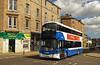Injury to 589 (SRB Photography Edinburgh) Tags: skylink fixing tappedup smash broke newhaven bus edinburgh lothian buses