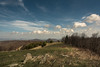 Grassy Knoll (riqwammy) Tags: view scenic blueridgeparkway rocky knob trail hike hiking path mountains trees sky clouds outside outdoors recreation rocks field hill grass forest nikon d750
