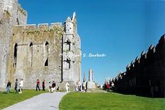 Tipperary [IRL], 1997, The Rock of Cashel. (Fiore S. Barbato) Tags: rock cashel tipperary rocca san patrizio sanpatrizio castello fortezza abbazia kings