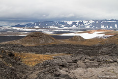 hot and cold (Desireevo) Tags: iceland ice ijsland ijs island islands landscape landschaft landscapes nature outdoors desireevanoeffelt summer holiday mountain mountains leirhnjúkur lava clouds cloud snow