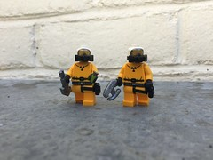 Exterminators (Yappen All Day Long) Tags: lego custom exterminators brickarms eclipsegrafx tlc gas mask flashbang