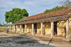 Neglected colonial-era building.