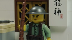 Chinese Guard Duty (Force Movies Productions) Tags: war weapons world wwii wars eastern lego helmet gear helmets legophotograghy resistance legophotography rifles rifle toy toys trooper troops troop troopers youtube ii officer conflict soldier order pose cool movie soldiers moc photograpgh photo picture photograph photography animation army asia asian stopmotion scene sinojapanese scenes film firearms guns history kmt kuomintang custom china chinese bricks brickfilm brickarms brickizimo brick nation nationalist minfig minifig military minifigure minifigs militia nations