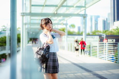 _DSC2727 (少し茶色) Tags: jk uniform