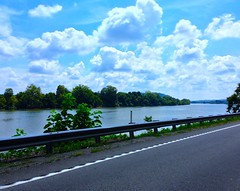 The River Road View ..... (~ Cindy~) Tags: riverroadview summer2018 tennessee clouds lake