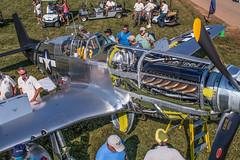 Warbird Area (Experimental Aircraft Association (EAA)) Tags: eaaairventure2018 cockpit360 lylejansma oshkosh wiwisconsin warbird warbirds av av18 airventure 2018 america