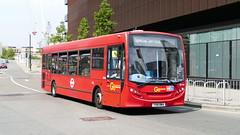 Unusual Working Here (East) (londonbusexplorer) Tags: goahead london adl enviro 200 se104 yx61bwa 847 here east stratford city shuttle bus buses