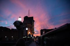 Aurora Sunset (stephenhanafin) Tags: aurora illinois sunset paramounttheater sky magichour nikond750 tamron28300mmdivcpzd