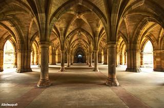 The Pillars - Glasgow Uni