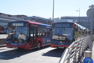 WOB 211 and 207 @ Warrington bus station