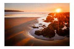 Like a New World (MagiCshoot) Tags: mer océan nikon water sunset sable sand sun soleil rock longexposure bretagne bzh ombre eau sky ciel evening corail couleur color france french d600 golden