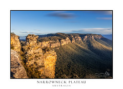 Narrowneck Blue Mountains Australia scene (sugarbellaleah) Tags: bluemountains rocks geology trees bushland wilderness narrowneckplateau cliffs valley megalongvalley clouds sky sunlight boarshead australia mountain bushwalk lookout outdoors nature environment travel tourism adventure scenery picturesque beauty stunning shapes texture katoomba cahillslookout pagoda escarpment high peak longexposure forest gumtrees light shadow getaway vacation place visit