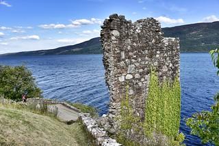 13th Century Urquhart Castle Ruins - Inverness Scotland - 27/7/2018