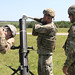 Soldiers live fire mortars at Indirect Fire Infantryman Course