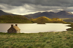 Loch Stack III (Paul C Stokes) Tags: lochstack loch stack scotland northcoast500 northcoast norrth coast 500 nc500 nc sonya7r2 sony a7r2 zeiss 1635 grass landscape water sky mountain lake scottish highland highlands field 70300 70300mm 70300g sel70300g