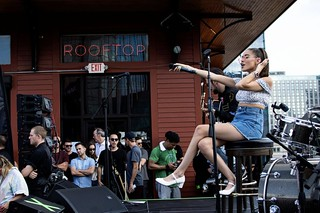Madison Beer at Rooftop Live