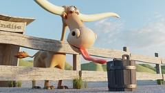 Last Drop (Armando Tello) Tags: blender b3d render cycles longhorn bull cartoon character desert 3d