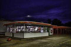 R-B Drive In (lostsmitty) Tags: drivein hutchinson sony sonya99ii afterhours cocacola fastfood icon night smalltown