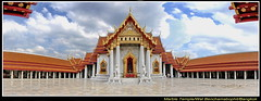 Wat Benchamabophit (The Marble Temple) - Bangkok (meren34) Tags: wat benchamabophit the marbletemple bangkok thai thailand marble temple