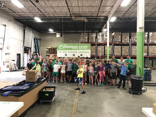 Edina Parks & Rec Packing Event 7/26/18: Day 2