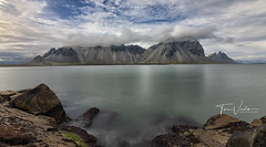 Vestrahorn (Toi-Vido) Tags: iceland vesrahorn seawater sea sky ský landscapes landscape rock rocks longexposures ocean nature nikon d500 toivido tóivídó