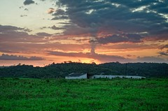 Fazenda_Catu_03 (Carlos Henrique Pereira) Tags: sunset landscape bahia brasil brazil nikon d7000 50mm f14 afs nikkor f14g afsnikkor50mmf14g rural golden hour hendheld dxo photolab on1 photoraw clouds farm